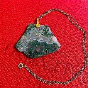 🖤Vintage Gemstone necklace